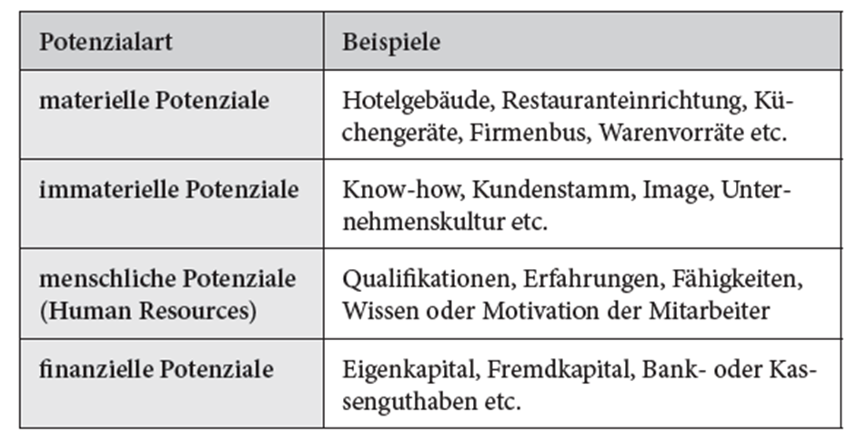 b erfahrungen fhigkeiten kenntnisse qualifikationen der mitarbeiter und finanzielle potenziale z b eigen oder fremdkapitalausstattung betrachtet - Fahigkeiten Beispiele