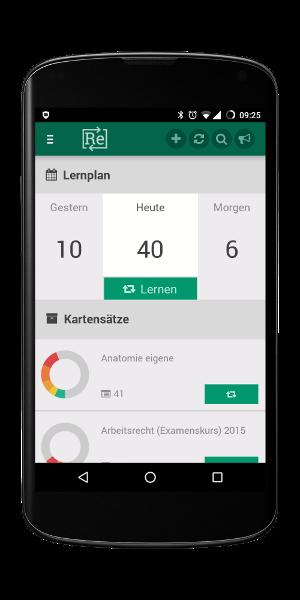Karteikarten-App für iOS (iPhone, iPad) und Android - Repetico
